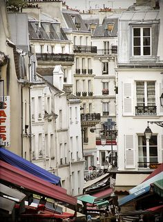 Rue Mouffetard - Paris 5...where dominique lived when he was a student in the 60s