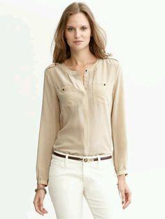 Basic but unique blouse
