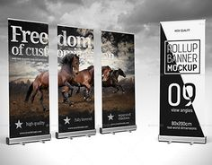 """Check out new work on my @Behance portfolio: """"Roll-up Banner Mockup"""" http://be.net/gallery/35393909/Roll-up-Banner-Mockup"""