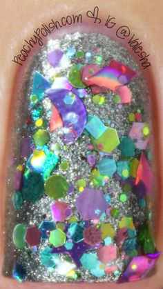 Candy Lacquer - Fairyland, current mani-5.17.14