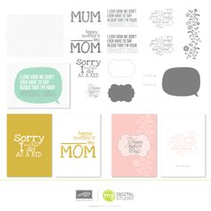 New #digital downloads are released every Tues from #Stampin Up Check out this week's right here www.melaniegiesel.stampinup.com