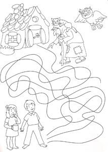 pracovní list pohádky - Google Search Medovníkový domček Coloring Books, Coloring Pages, Hansel Y Gretel, Worksheets, Fairy Tales, Diy And Crafts, Language, Clip Art, Education