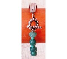 Spoon Bracelet with Turquoise Glass Beads, $20.0