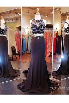 Black Mermaid Prom dresses, Prom dresses Sale, Black Prom Dresses, Short Black Prom Dresses, #shortpromdresses, Prom Dresses Short, #TwoPiecePromDresses Two Piece Prom Dresses, Prom Dresses Mermaid, Prom Dresses Black, Mermaid Prom Dresses, Short Prom Dresses
