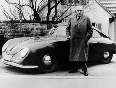 Life itself is a race, marked by a start by Ferdinand Porsche ...