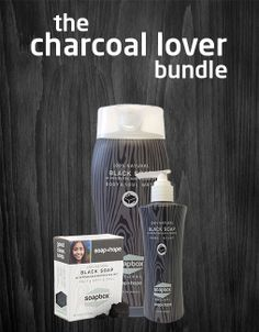 Activated Charcoal Soap, each purchase provides vitamins to children in need