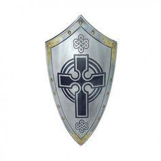 Templar Shield with Cross