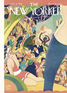 Eugene Gise : Cover art for The New Yorker 72 - 3 July 1926