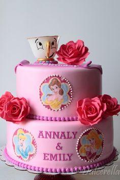 Disney Princesses Cake (by dulcerella)