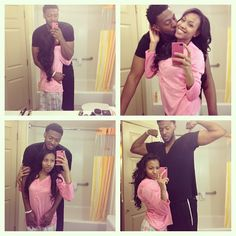 Jayla Watson and her boyfriend #Subscribe to her YouTube account