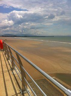 Swansea Bay Beach in Swansea, Wales