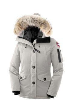 Canada Goose Montebello Parka Lightgrey Womens  $318