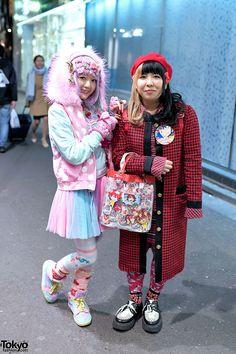 Kawaii Harajuku Girls Styles
