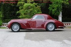 Alfa Romeo 6C 2500 SS Berlinetta by Touring Superleggera (1942)