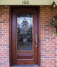 front doors | Beautify Your Exterior House with Decorative Beveled Glasses | Gallery ...