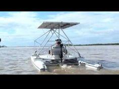 Catamaran Solar - YouTube