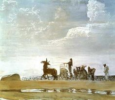 Odysseus and Nausicaa - Valentin Serov (Russian)