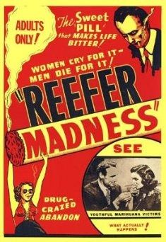 Original movie poster for Reefer Madness #reefermadness #usbongs #poster