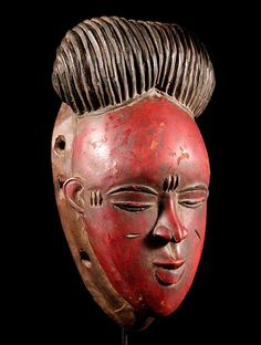 Tribal mask from Ivory Coast, I love mask always been a fan of collection