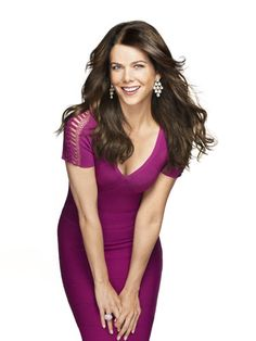 REDBOOK readers asked Lauren Graham everything they'd been dying to know and she responded. Lauren Graham, Girlmore Girls, Gal Gabot, Janina, Brown Eyed Girls, Celebs, Celebrities, Hollywood Glamour, Celebrity Crush