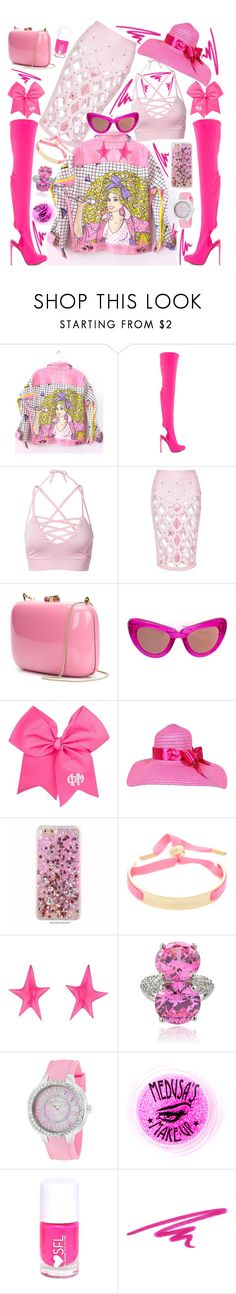 """""""pink 💖"""" by alex-vujanovic ❤ liked on Polyvore featuring Levi's, Privileged, Rocio, Jacques Marie Mage, Marc by Marc Jacobs, Alexis Bittar, Icz Stonez, Oceanaut, Medusa's Makeup and NARS Cosmetics"""