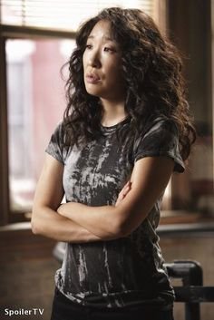 """Cristina Yang """"Grey's Anatomy"""" - Sandra Oh-loooove her, she's an incredible actress and definitely my favorite on Grey's Cristina Yang Grey's Anatomy, Calliope Torres, Cardio, Grays Anatomy Tv, Sandra Oh, Look At You, Celebs, Celebrities, Celebrity Crush"""