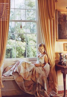 Lady Ella - daughter of Prince Michael of Kent and Princess Michael of Kent, Marie Christine. At Nether Lypiatt - previous country home