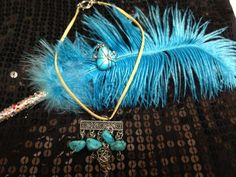 5 Stone Drop Necklace by MyFavoriteAccessory on Etsy, $19.99