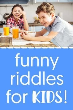 99+ Best Funny Riddles for Kids Plus Jokes, Brain Teasers and more! #riddles #kids #jokes