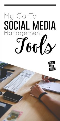 Some of my personal favorites for managing multiple social media accounts.  What keeps me organized + also from going completely insane!! | My go-to social media management tools... | social media tips