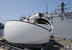 Watch Navy's New Laser Cannon, Mounted on a Ship, Kill a Drone