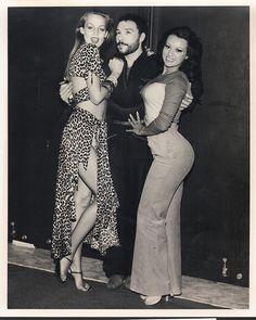 Jerry Hall, Antonio lopez and Iris Chacon-Puerto Rico early 1980's