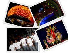 Santoshpur Trikon Park Sarbojanin Durga Puja