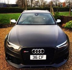 Audi RS6 - Black one