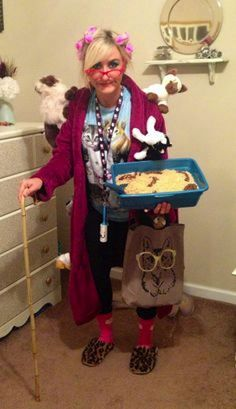 Videos We Love: Crazy Cat Lady Costumes for Halloween -- Embrace the stereotype and dress like the craziest of crazy cat ladies this side of crazy town.