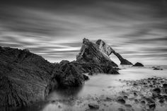 Bow Fiddle Rock Print featuring the photograph Bow Fiddle Rock 1 by Dave Bowman