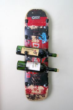 #Bar, #Kitchen, #Rack, #Recycled, #Skateboard, #Upcycled, #Urban, #Wine