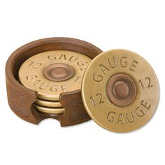 Shotgun Shell Coasters. Perfect addition to my hunting cabin.