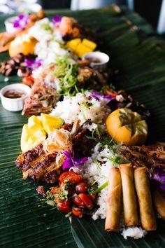 Filipino Recipes - Testaments to Filipino Culture and Identity Filipino Food Party, Filipino Dishes, Filipino Recipes, Asian Recipes, Filipino Wedding, Boodle Fight Party, Filipino Breakfast, Babyshower, Sisig