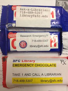 Library Rx - Take one and call a librarian in the morning.