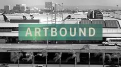 """A contemporary arts festival at the Los Angeles International Aiport (LAX) explores the visual dynamics of air travel via public art.  - Commissioned by KCET for the Emmy award winning documentary series """"Artbound"""""""