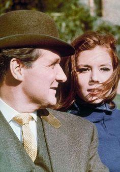 Patrick MacNee et Diana Rigg en 1965