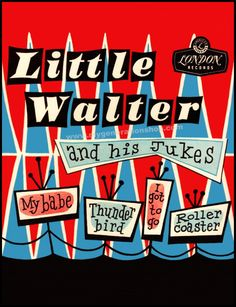 Little Walter Blues Poster by MyGenerationShop on Etsy
