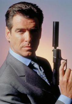 Pierce Brosnan played James Bond &  Remington Steele
