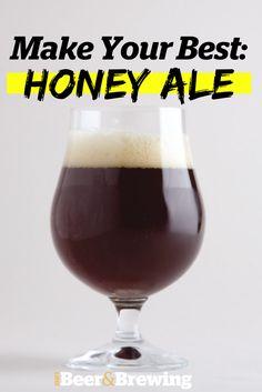 Homebrewing biab Make Your Best Honey Ale Brewing Recipes, Homebrew Recipes, Beer Recipes, Make Beer At Home, How To Make Beer, Honey Beer Recipe, Brewery Design, Best Honey, Ale Beer