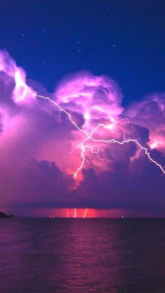 Nature's electrical display