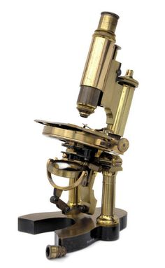 ☞ MD ☆☆☆ Microscopio del Capitán Medico Santiago Ramón y Cajal.