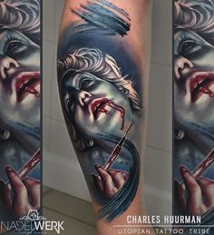 @charlyhuurman of the crazy tattoos I did last week in Austria  Uno de los tattoos q hice en Austria la semana pasada  Done with, Hecho con: @ezcartridgecouk cartridges @inkedigram Aftercare @intenzetattooink colours  #tattoovalencia #artcollective #instart #tattoo_of_the_day #utopiantattootribe #inkspiration #tattooistArtMagazine #charleshuurman @thebestspaintattooartists @utopiantattootribe @nadelwerk_austria