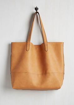 Everyday Allure Bag in Butterscotch - Tan, Solid, Work, Casual, Minimal, Better, Neutral, Faux Leather, Variation