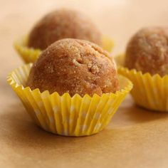 These desserts will add muscle without adding to your waistline  Cookie Dough Truffles  http://www.menshealth.com/nutrition/4-treats-you-can-make-with-protein-powder?slide=3